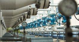 Pabeigta dabasgāzes iesūknēšanu Inčukalna pazemes gāzes krātuvē - {SITE_TITLE}
